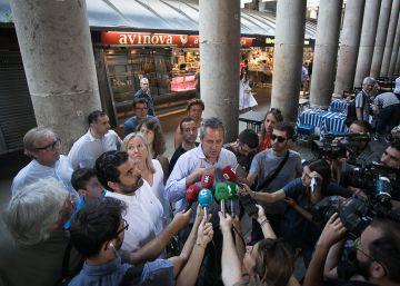 CiU, C's y PP se unen contra Colau defendiendo las terrazas de la Boquería
