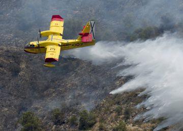 Riesgo de incendio extremo pese a la lluvia en Comunidad Valenciana