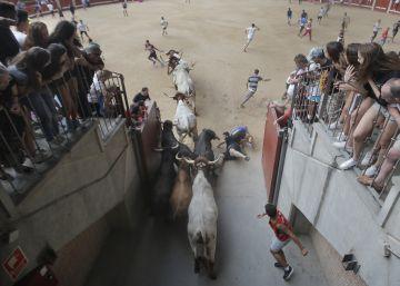 El primer encierro de Leganés termina sin heridos por asta de toro