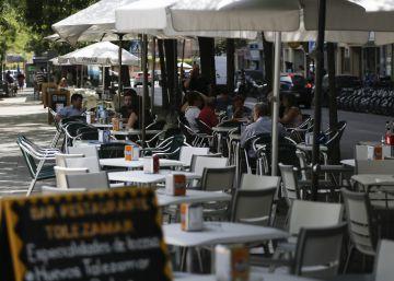 Cae un 45% la recaudación por sanciones a las terrazas en Madrid