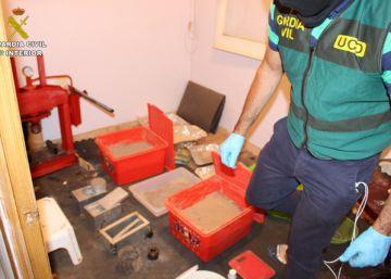Cae una red con un laboratorio a gran escala de corte de heroína de Turquía