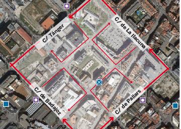 Barcelona limitará la velocidad a 10km/h en algunas manzanas