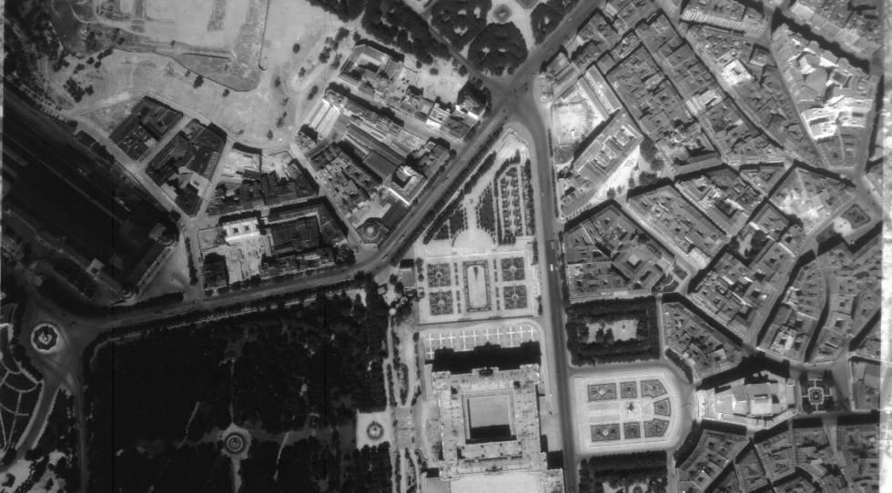 El Ayuntamiento digitaliza su archivo histórico de fotos aéreas