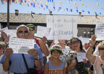 La prohibición del baño en La Pedriza enfrenta a ecologistas y comerciantes