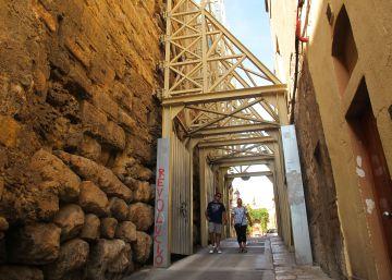 Las murallas de Tarragona buscan la firmeza perdida