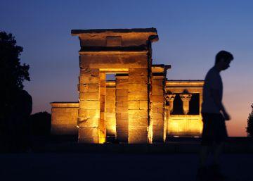 El Templo de Debod reabre parcialmente