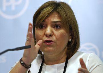 La dirigente regional del PP Isabel Bonig.