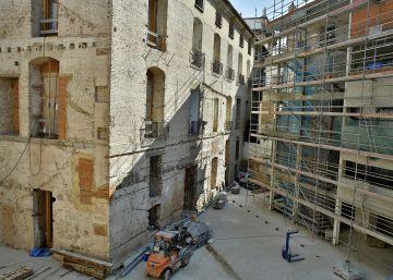 El Palacio del Temple lucirá rehabilitado en primavera
