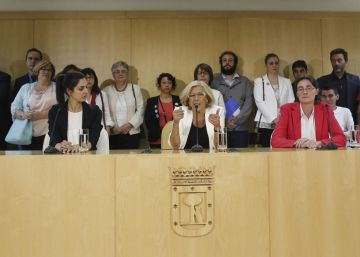 Un informe interno de IU describe la división del gobierno de Carmena