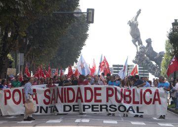Vigo sale a la calle para pedir el rescate público del nuevo hospital