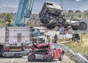 Un menor muerto y otras cinco personas heridas en un accidente