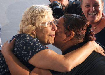 La alcadesa celebra el salto de la valla en Melilla de 250 inmigrantes
