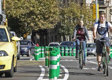 Barcelona va al trabajo sin coche