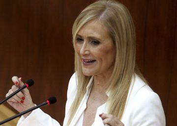 """Cifuentes promete """"mantener los impuestos más bajos de España"""""""