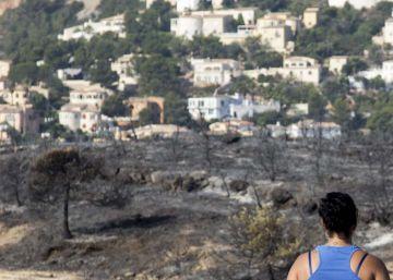 El Gobierno valenciano blindará el suelo quemado ante la construcción