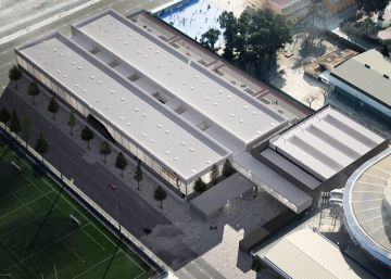 Empieza la construcción de la escuela de baloncesto de Juan Roig