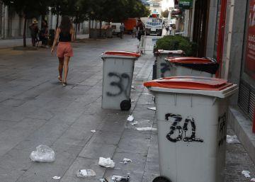 El centro de Madrid, foco de los problemas de limpieza en la capital