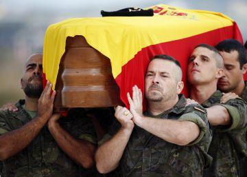 Llegan a Valencia los restos del soldado español fallecido en Irak