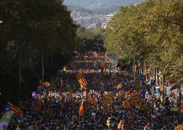 Otra Diada multitudinaria en cinco ciudades