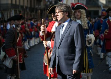 Puigdemont se codea con la Coronela