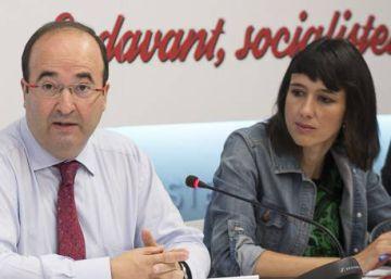 Iceta exhibe su gestión para continuar liderando el PSC