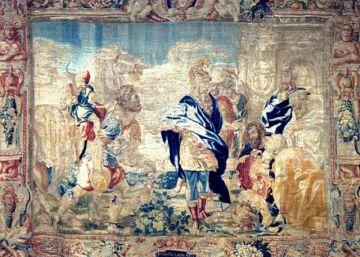 Los tapices de la asociación Santa Rita pasan a manos del Arzobispado