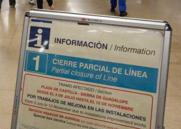 Metro reabre el miércoles siete estaciones de la línea 1