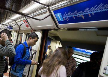 Una avería corta dos horas y media la línea 1 del Metro