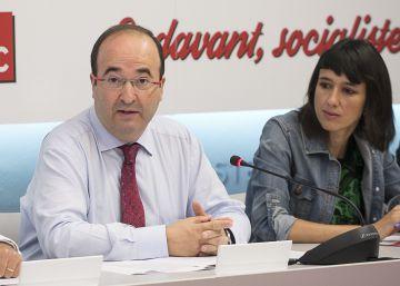 Iceta y Parlon formalizan sus candidaturas para liderar el PSC