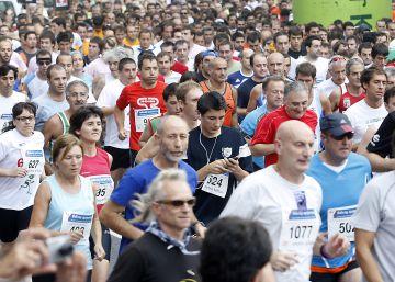 Sprint solidario en Bilbao