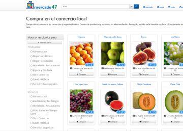 El pequeño comercio madrileño se aglutina en la plataforma de compra online 'mercado47'