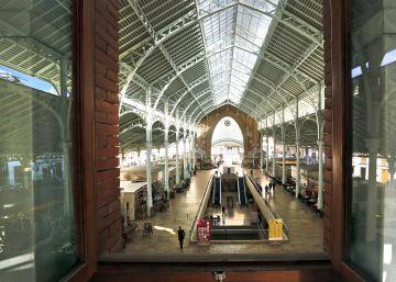 El modernista Mercado de Colón celebra desde octubre sus 100 años