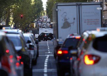 Los atascos crecen en Madrid un 89% en el Día sin Coches