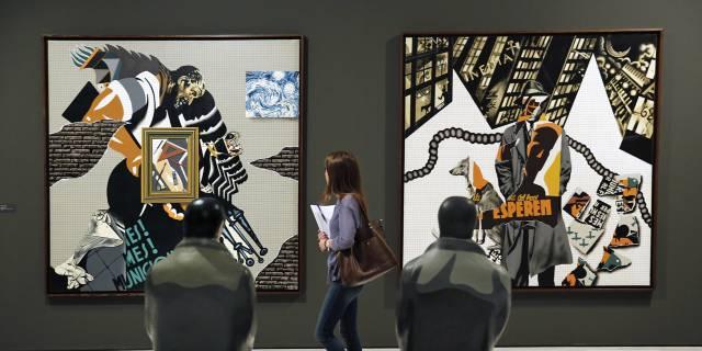 Exposición del Equipo Crónica en la Fundación Bancaja de Valencia.