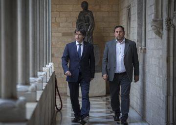 Puigdemont afronta la cuestión de confianza pensando en las Cuentas