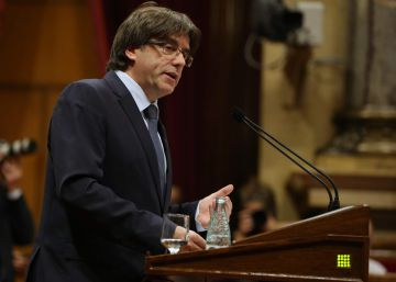 Puigdemont anuncia un referéndum independentista para septiembre de 2017