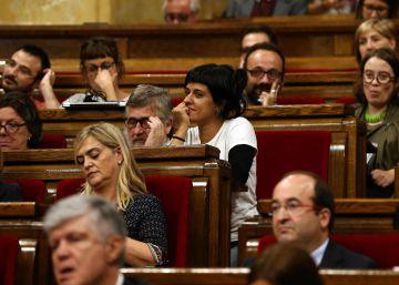 """La CUP subraya su plena """"sintonía"""" con la propuesta de consulta y obvia la amenaza electoral"""