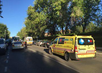 Un microbús escolar atropella a un niño de 11 años en Pozuelo