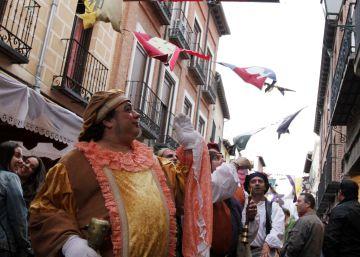 Un mercado con delirios de Cervantes
