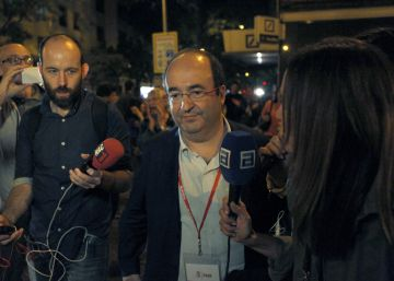 Los aspirantes a liderar el PSC reiteran el 'no' a Rajoy