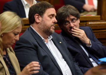 """Junqueras: la Generalitat cumplirá con el déficit """"por primera vez"""""""