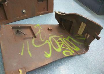 Una traviesa mal colocada en el metro daña una treintena de trenes