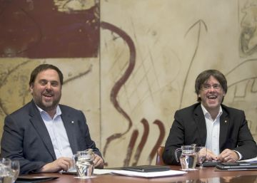 El veto de la CUP a las cuentas ayudó a Junqueras a cumplir con el déficit