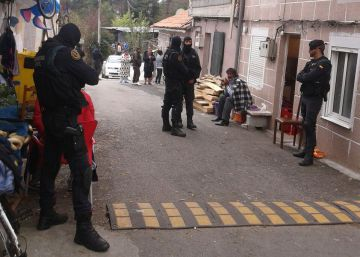 Diez detenidos en una redada antidroga en Pontevedra