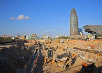 El túnel de Glòries se retrasará un año y medio, hasta finales de 2018