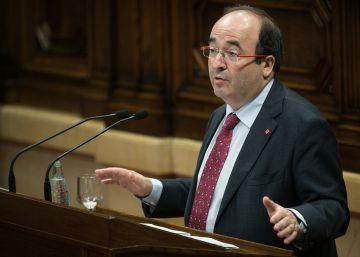 El PSC propone que España sea una federación que reconozca la plurinacionalidad