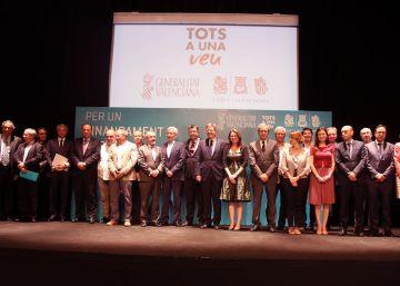La Comunidad Valenciana reclama en Madrid una financiación justa