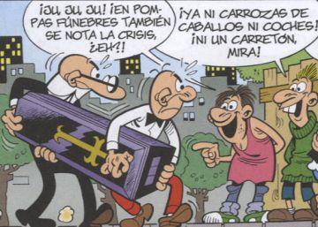 Mortadelo y Filemón cobran 8 euros… a la semana