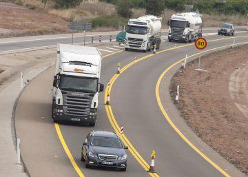 Las obras en la A-7 complican la conexión entre Castellón y Valencia