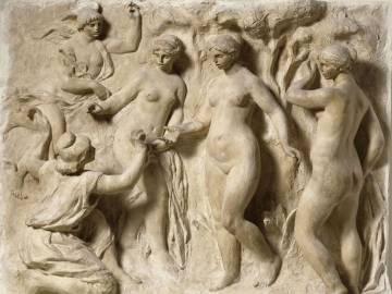 El bajorrelieve El Juicio de Páris (1914), una de las primeras obras conjuntas de Guino y Renoir.
